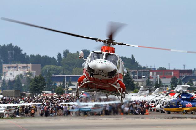 Bell 412EP 北海道防災ヘリ はまなす2号 (2)