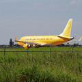 Photos: ERJ-175 FDA JA07FJとトンボ達