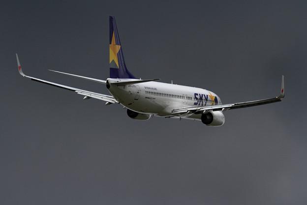 B737 JA737U Skymark Airlines