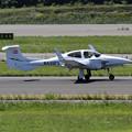 写真: DA42-NG N430PS landing