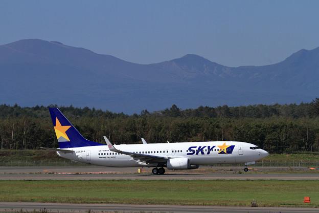B737 JA73AA SKY takeoff