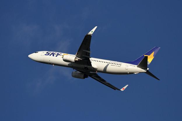 B737 JA737R SKY takeoff