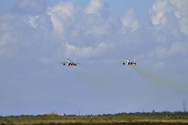 F-15 Formation takeoff