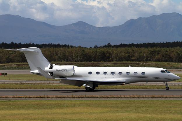 Photos: GulfstreamG650 N221DG (1)