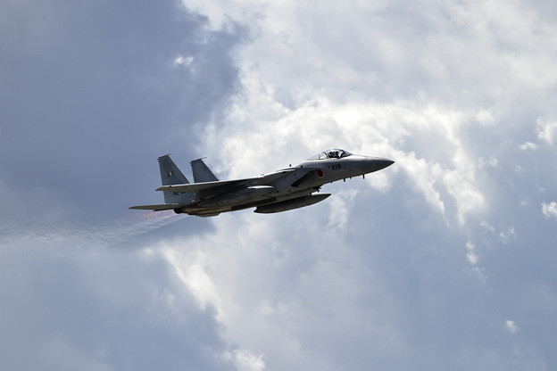 F-15J 839 203sq takeoff