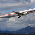 Photos: B777-300ER 80-1111 飛行訓練始まる(2)