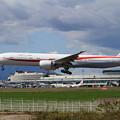 Photos: B777-300ER 80-1111 RJCCへapproach