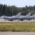 Photos: CTSにF-16 WW 13FS & 14FS