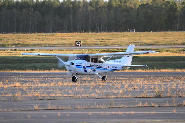 写真: Cessna172S JA394A あまつばめ JCG