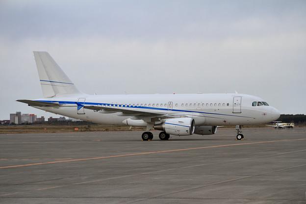 ACJ319 CS-TFU ポルトガル国籍は初めてかな(2)