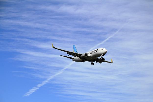 Photos: B737 ADO JA08AN approach