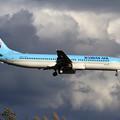 Photos: B737-900 KAL HL7727 approach