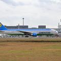 Photos: B767 Uzbekistan UK67003 飛来 (2)