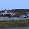 F-15 訓練終わりエプロンへ
