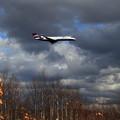 写真: CRJ700 IBEX 晩秋のCTS