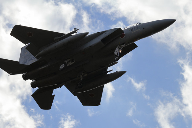 写真: F-15J approach (1)