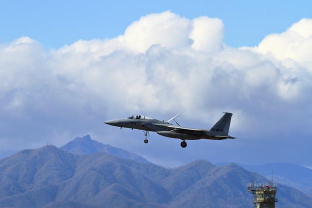 F-15J 201sq approach