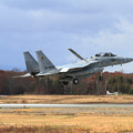 F-15DJ 080 23sq landing