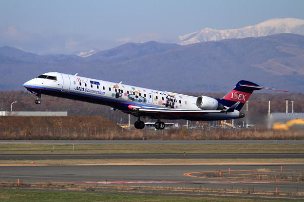 CRJ700 IBEX むすび丸 takeoff