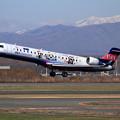 写真: CRJ700 IBEX むすび丸 takeoff