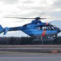 写真: CTSでEC135 道警ぎんれい JA02HP