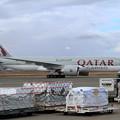 Photos: B777Freighter A7-BFC Qatar Airways Cargo飛来