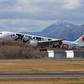 B767 JAL DREAM EXPRESS 90 livery JA602J
