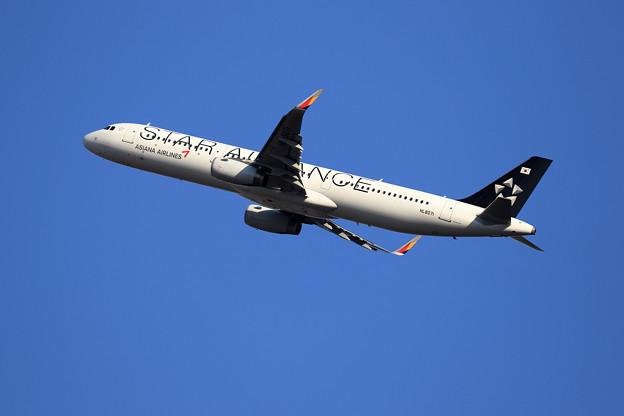 A321 Asiana HL8071 takeoff
