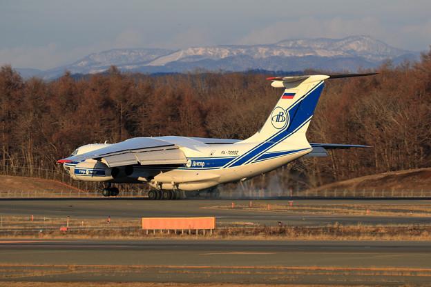 IL-76TD-90VD RA-76952 VDA landing