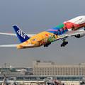 B777 ANA Tokyo2020 takeoff