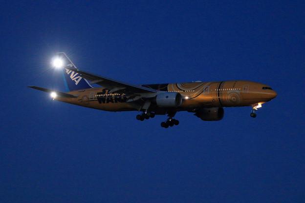 B777 ANA JA743A approach