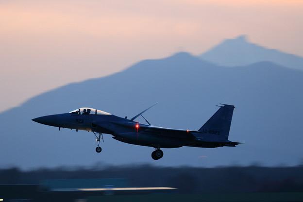 F-15J 923 304sq approach