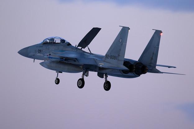 F-15DJ 091 204sq 3rdの終了