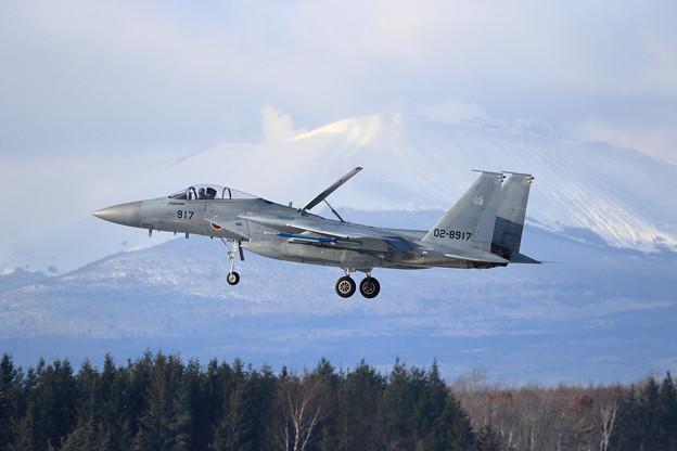 F-15J 917 304sq approach