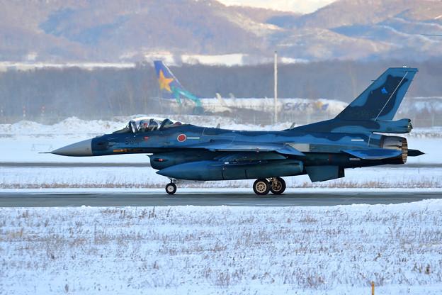 F-2A 63-8534 3sq takeoff