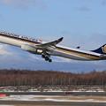 Photos: A330 SIA 9V-SSI takeoff (1)
