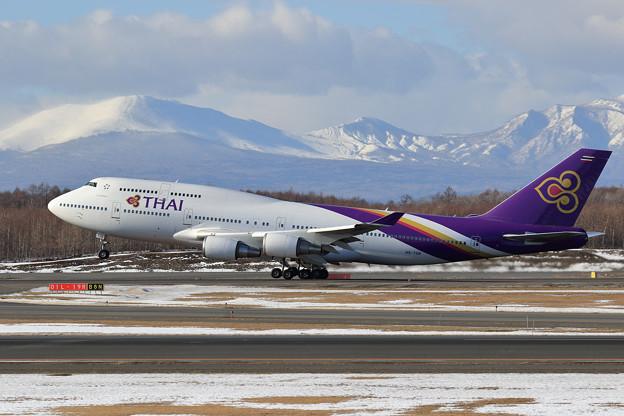 B747 THAI HS-TGB takeoff