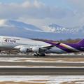 Photos: B747 THAI HS-TGB takeoff