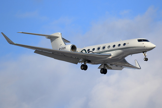 Gulfstream G650ER B-3325 上海金鹿