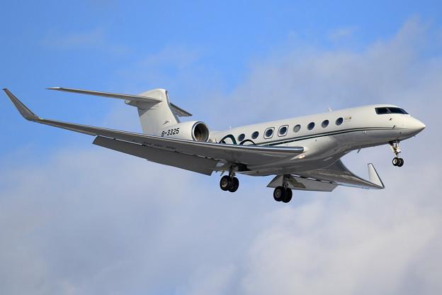 Photos: Gulfstream G650ER B-3325 上海金鹿