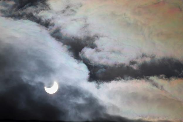部分日食 2019年1月06日 千歳 (2)