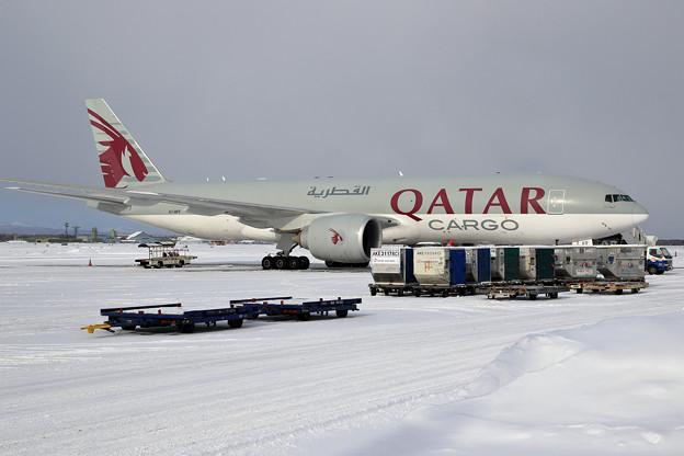 B777F Qatar Airways Cargo ふたたび A7-BFF
