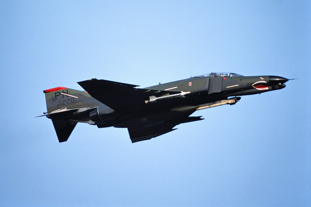 USAF F-4G 69-7220 PN CTS 1987.10