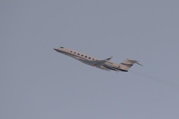 Gulfstream G650ER PR-GVI takeoff