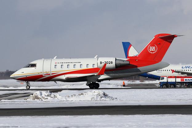 Bombardier Challenger 605 B-3028