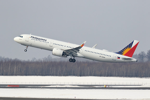 A321neo PAL RP-C9936 takeoff