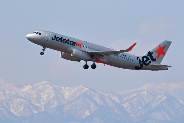 A320 Jetstar JA18JJ takeoff