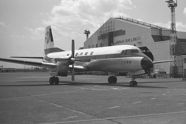 YS-11A JA8713 いぶすき TDA HND 1972.03
