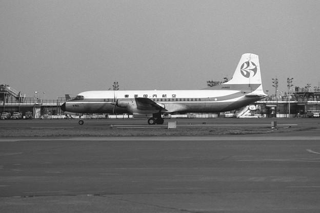 YS-11 JA8662 なると HND 1972.04