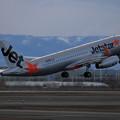 Photos: A320 Jetstar JA25JJ takeoff